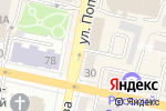 Схема проезда до компании Интер Стиль в Белгороде