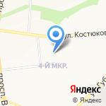 Кораблик на карте Белгорода