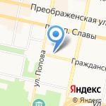 Имбирный пряник на карте Белгорода