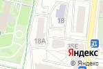 Схема проезда до компании Техстроймонтаж в Белгороде