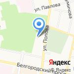 ТрансЮжСтрой-ПГС на карте Белгорода