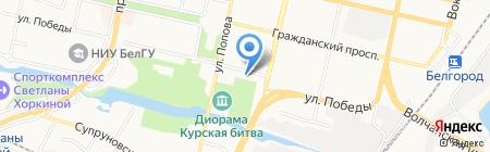 Престиж Event Group на карте Белгорода