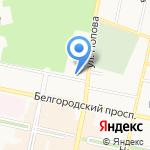 Детский сад №27 на карте Белгорода