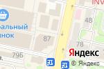 Схема проезда до компании Карат Серебро в Белгороде