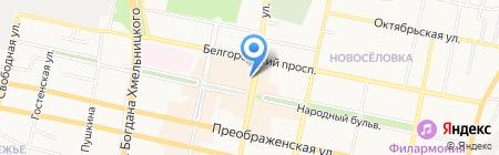 Рынок недвижимости на карте Белгорода