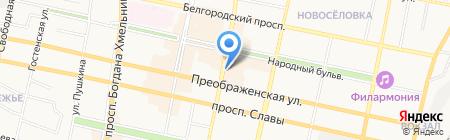 Мосбелсервис на карте Белгорода