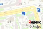Схема проезда до компании Сластёна в Белгороде