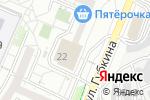 Схема проезда до компании Симфония красоты в Белгороде