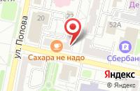 Схема проезда до компании Издательский Дом Берник в Белгороде