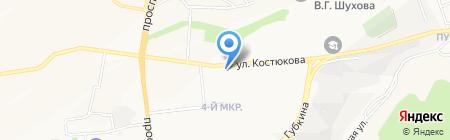 Белгородский областной центр восстановительной медицины и реабилитации на карте Белгорода