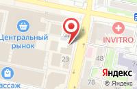 Схема проезда до компании Эскалат в Белгороде