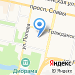 Бани Белогорья на карте Белгорода