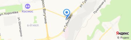Автомастер на карте Белгорода