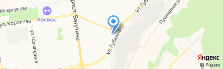 Инструмент клуб на карте Белгорода