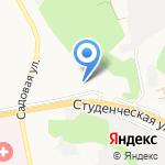 Участковый пункт полиции №18 на карте Белгорода