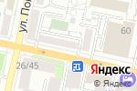 Схема проезда до компании Султан в Белгороде
