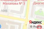 Схема проезда до компании Оптика-плюс в Белгороде