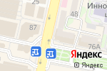 Схема проезда до компании Восточный экспресс банк, ПАО в Белгороде