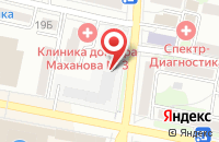 Схема проезда до компании Ажур в Белгороде
