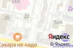 Схема проезда до компании Миллениум в Белгороде