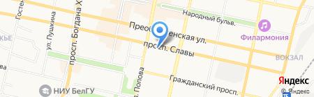 ВАМкома на карте Белгорода