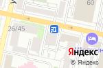 Схема проезда до компании Кома в Белгороде