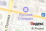 Схема проезда до компании Нотариус Уретий С.Л. в Белгороде