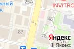 Схема проезда до компании Ультра обувь в Белгороде