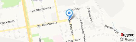 Добрый доктор на карте Белгорода