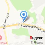 Автомойка на карте Белгорода