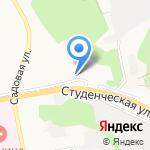 Хануна на карте Белгорода