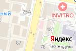 Схема проезда до компании Роспечать в Белгороде