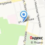 Город Скидок на карте Белгорода