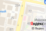Схема проезда до компании Ладушка в Белгороде