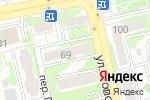 Схема проезда до компании Детская художественная школа г. Белгорода в Белгороде