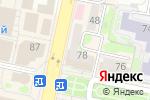 Схема проезда до компании Винсент в Белгороде