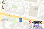 Схема проезда до компании Истерика в Белгороде