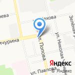 Фабрика архитектуры на карте Белгорода