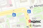 Схема проезда до компании Добрый доктор в Белгороде