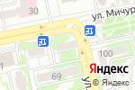 Схема проезда до компании Причал в Белгороде