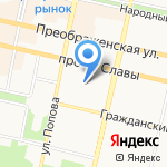 Мир колготок на карте Белгорода