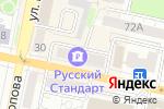Схема проезда до компании Мода Милано в Белгороде