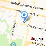 Русфинанс банк на карте Белгорода