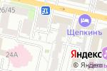 Схема проезда до компании Мир колготок в Белгороде