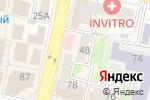 Схема проезда до компании Бабочка в Белгороде