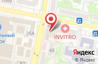 Схема проезда до компании Интим в Белгороде