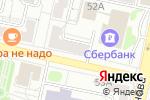 Схема проезда до компании Русфинанс банк в Белгороде