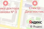 Схема проезда до компании Элит Центр в Белгороде