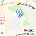 Белгородская городская станция по борьбе с болезнями животных на карте Белгорода