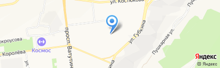 ЖЭУ БелгородСтрой на карте Белгорода